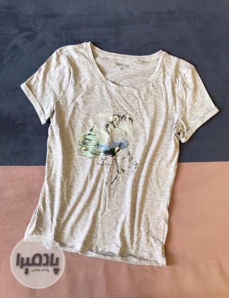 تی شرت طوسی