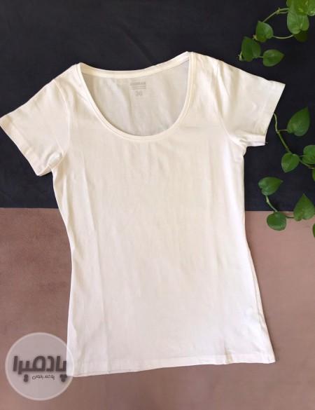 تی شرت ساده سفید