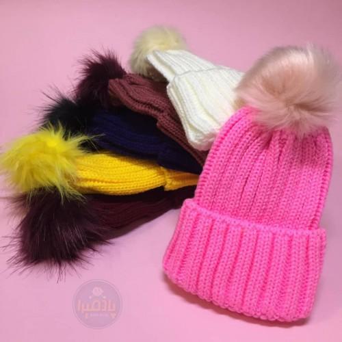 کلاه تک پوم اسپرت ( دخترانه و پسرانه )