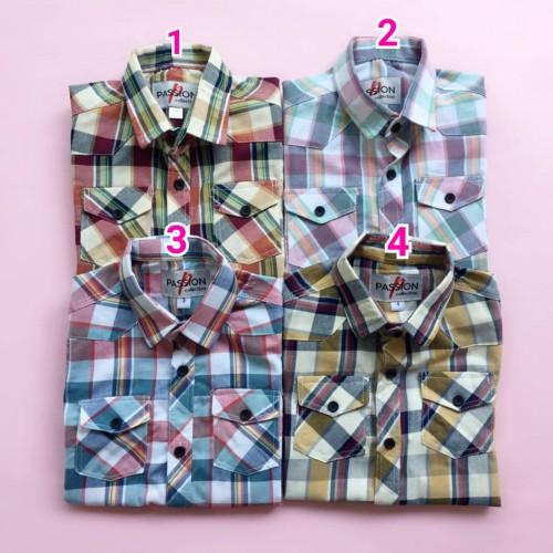 پیراهن چهار خونه ( پسرانه )