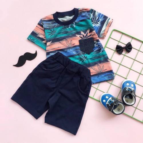 تیشرت شلوارک هاوایی ( پسرانه )