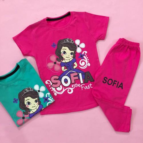 تیشرت شلوارک sofia (دخترانه)